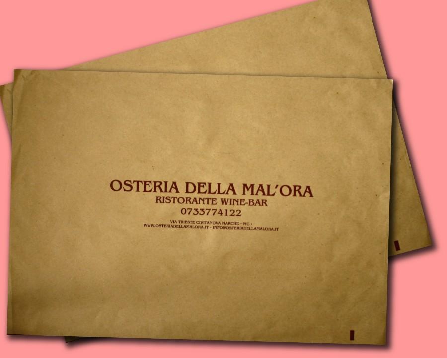 tovaglietta 35x50 personalizzata in carta paglia