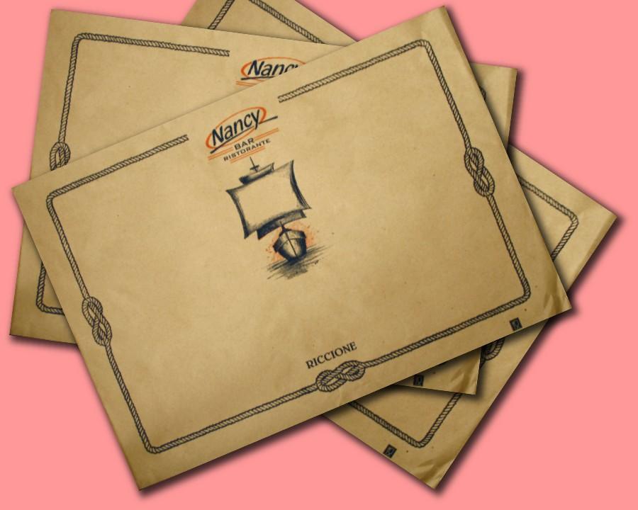 tovaglietta carta paglia 35x50