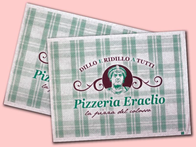 tovagliette personalizzate per pizzerie
